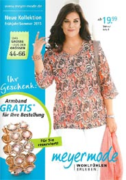 German Plus Size Catalog Meyer Mode. Spring-summer 2015 (Part 4)