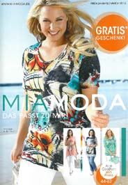 German Plus Size Catalog Mia Moda. Summer, 2015