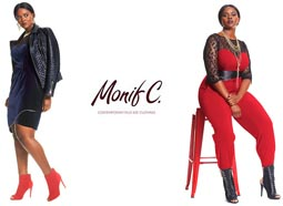 American Plus Size Collection Monif C. Spring, 2015