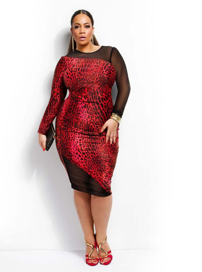 American Plus Size Collection by Monif C. Spring, 2015
