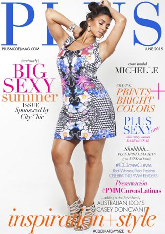 Plus Model Magazine. June, 2015