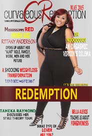 Plus Size Magazine Curvaceous Redemption. May 2015