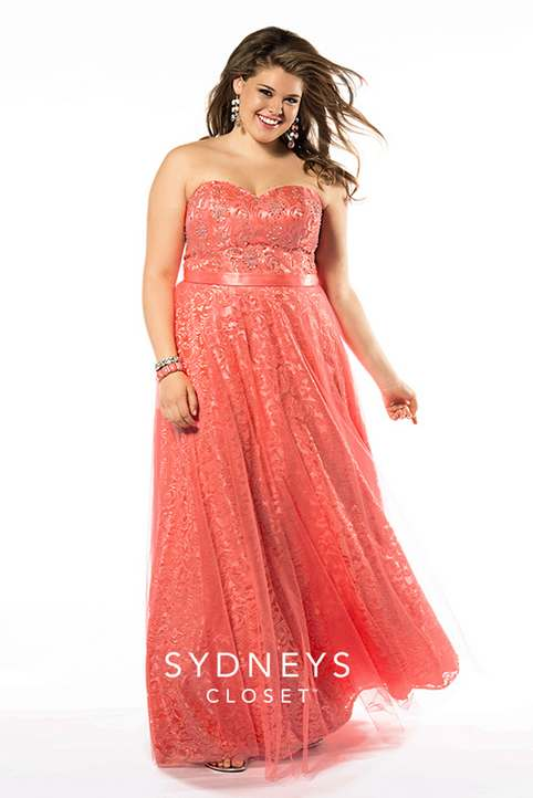 Sydney's Closet Plus Size Prom Dresses. Spring-Summer, 2015
