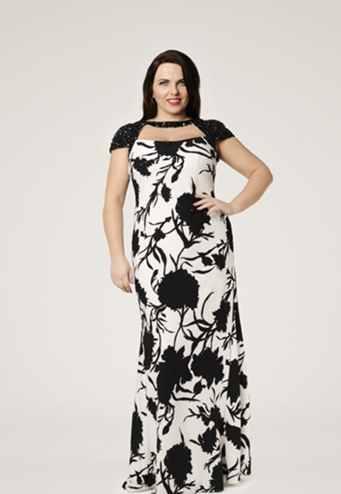Plus Size Dresses Viviana by British Brand Dynasty. Summer,2015