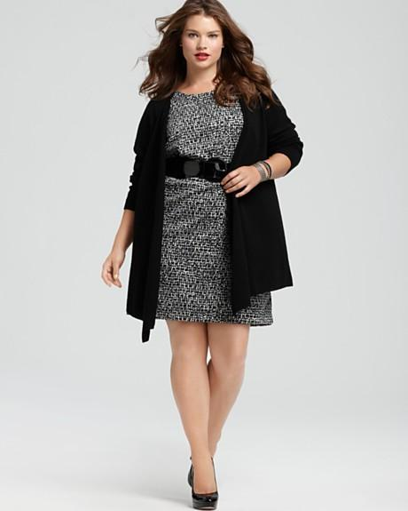 Cashmere Exclusively by Bloomingdale's Plus Size Collection Fall-winter 2011-2012