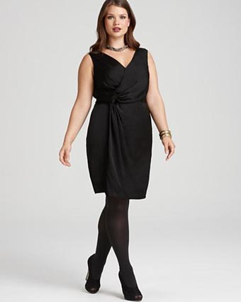 DKNY Plus Size Collection Fall-winter 2011