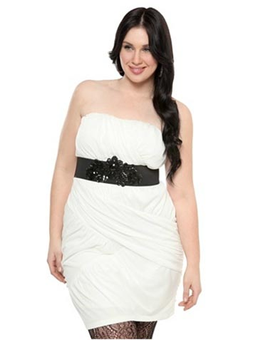 10 Hot New Years Eve Plus Size Dresses for 2012