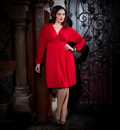 Kiyonna Plus Size Dresses. Winter 2012