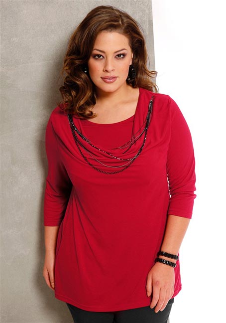 The French Catalog Plus Size Clothes M.I.M, Autumn-winter 2011