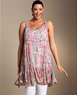 New Zealand catalog of clothes of the plus sizes Sara, 2011-2012