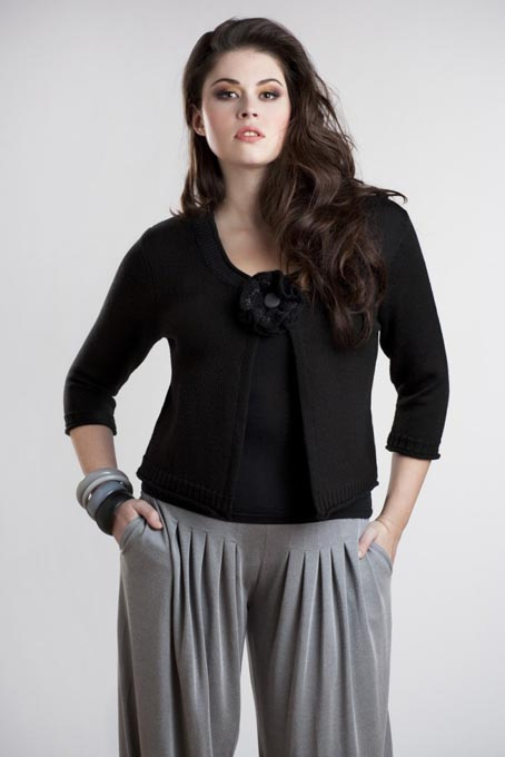 French Сatalog of Сlothes Plus Size Marie Melodie. Winter 2012