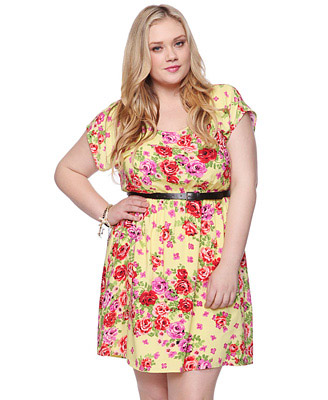 Forever 21 Plus Size Dresses, Spring 2012