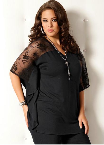 French Catalog Plus Size Clothes M.I.M, Spring 2012