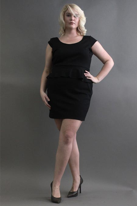 Size Appeal Plus Size Mini-dresses 2012