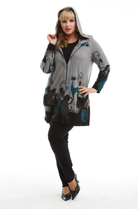 Russian Collection of Сlothes Plus Size Terra. Spring 2012