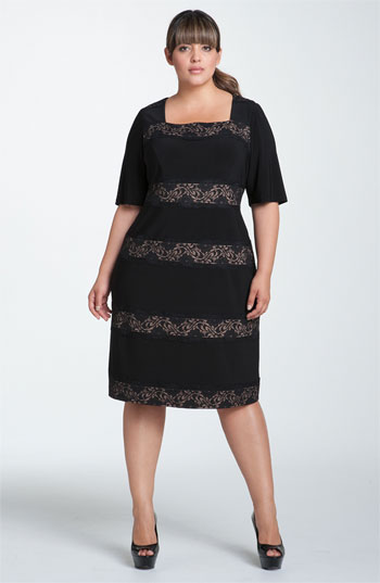 Adrianna Papell Plus Size Dresses, Spring-Summer 2012